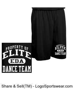 Adult Fadeaway Tricot Basketball Short - 11 inch Inseam Design Zoom